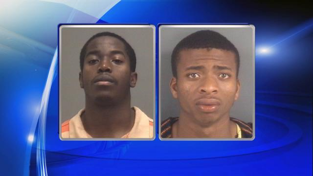 Deshaun Frederick Marvin Fahie (left), William Desean Hardy.