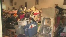IMAGES: Wendell family hoarding animals evicted from home