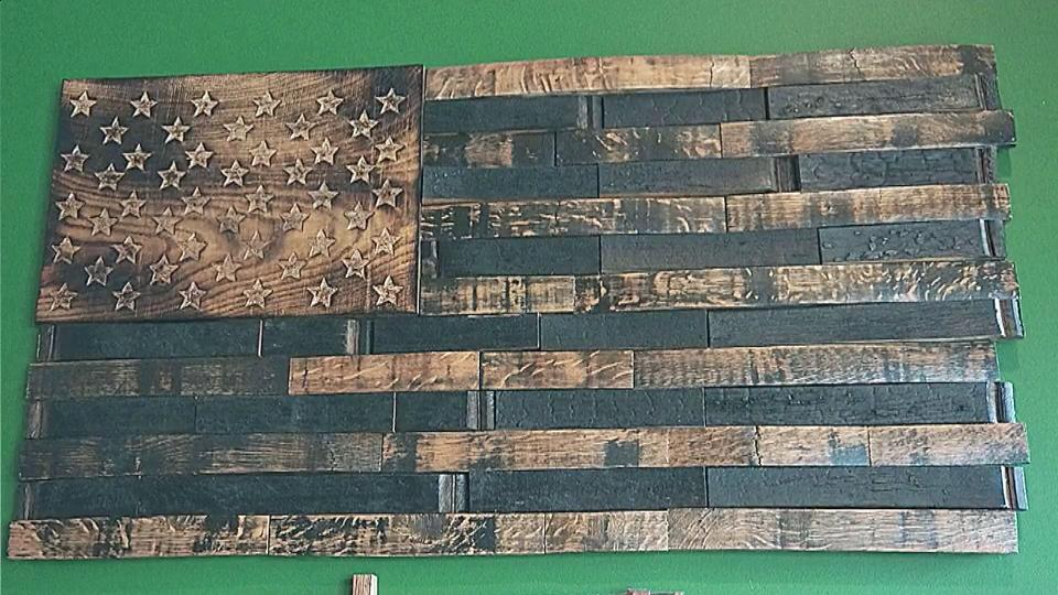 Whiskey Barrel Flags Spread Across The Nation WRAL