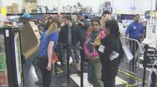 IMAGE: Shoppers line up for Black Friday deals