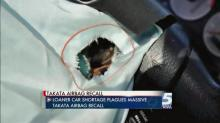 Air bag recall affects rental car availability