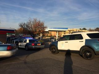 Raleigh police are searching for a suspect who is believed to be connected to a robbery at a Super 8 hotel Sunday afternoon.