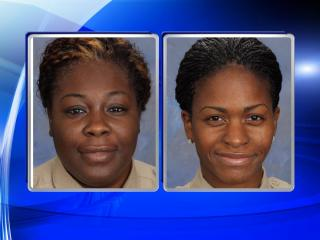 """During a mandatory supervisory review of inmate non-compliance reports, the Command Staff at the Office of the Sheriff of Durham County's Detention Facility determined that Officer Anita Louise Alston and Officer Rachel L. Smith utilized force that appeared to be beyond the amount reasonably necessary to restrain a detainee,"" said a statement from the Durham County Sheriff's Office."