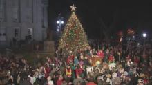 IMAGES: State Capitol gears up for Christmas with tree lighting, decorations and music