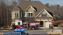 IMAGES: Rolesville house fire ruled a murder-suicide