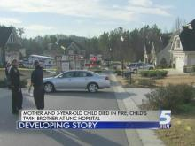 Mother and 3-year-old child die in Rolesville house fire