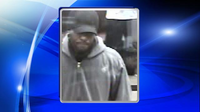 Police are searching for a man suspected of robbing a BB&T bank in Fayetteville on Dec. 11, 2015.
