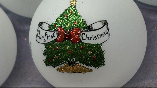 When Teresa Thibault couldn't find a Jesus-themed Christmas ornament, she decided to paint one for herself. The idea took off in 1992 and became Heart Gifts, which now offers over 100 different hand-painted ornament designs.