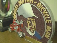 Children receive new bikes as Bicycle Man's widow continues tradition