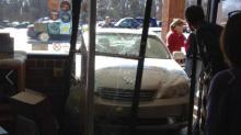 Car into Quail Ridge Books