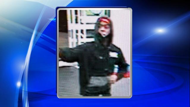 Raleigh police are seeking public assistance in locating a man who robbed a Walgreens on Thursday night.