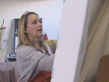 Charlotte artists finds calling in angels