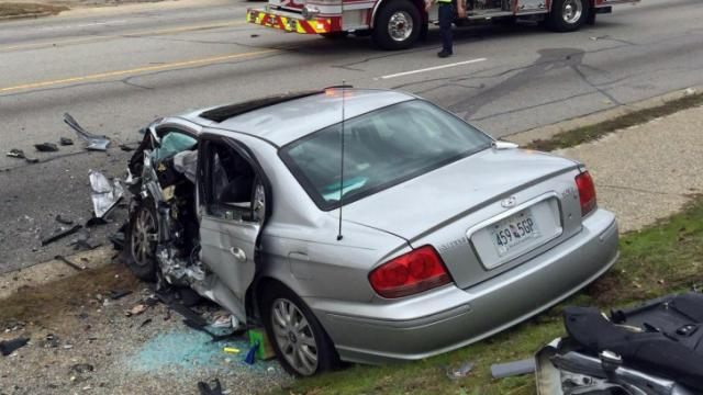 A Dec. 21, 2015, crash on Pamalee Drive killed a Fayetteville man and injured a woman. (Photo courtesy of Fayetteville Observer)