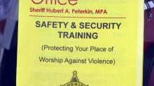 Sheriff's providing security training for NC churches