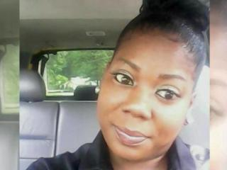The body of Audrey Pernell, 36, was discovered while extinguishing a fire a 3522 Gazella Circle in the Lone Pine Mobile Home Park in Fayetteville around 4:30 a.m. on Wednesday, authorities said.