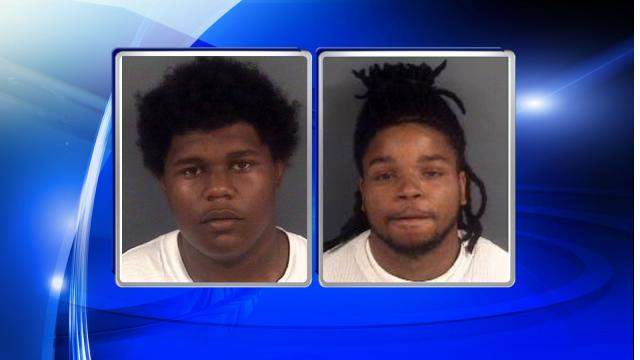 Nicholas Anthony Jones, left, and Antwan Lamar Brown