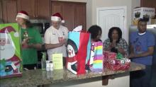 Village Hands Foundation delivers presents to Wake Forest family