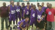 Dunn basketball team