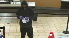 IMAGES: Police investigating Durham bank robbery