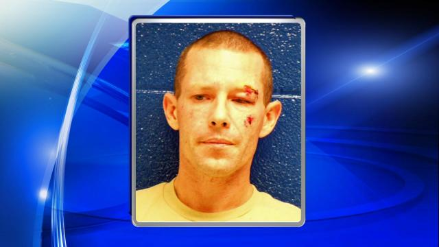 Daniel Edwards was treated for injuries sustained during the struggle with police and charged with simple assault and resisting a public officer.