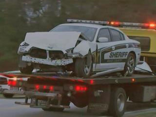 A 56-year-old Raleigh man has been charged with driving while impaired in a Friday morning wreck that sent the man and a Wake County sheriff's deputy to the hospital.