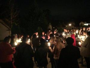 Neighbors gathered Sunday to mourn Raekwon Shannon, 19, killed in Lillington.