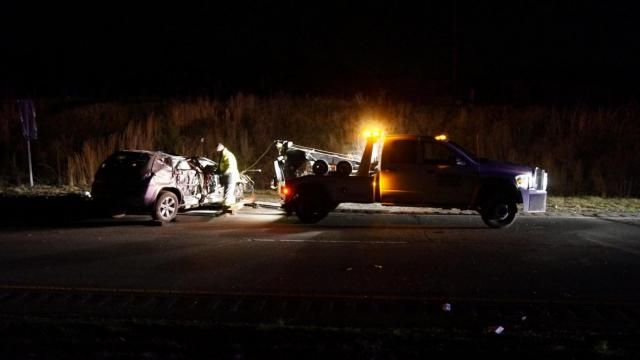 Durham police said a 27-year-old woman died on Monday night after crashing her vehicle on U.S. 70. The woman, police said, was feeling an earlier traffic accident.