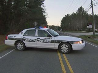 A wreck around 5:30 a.m. Wednesday closed a two-lane road in Durham.