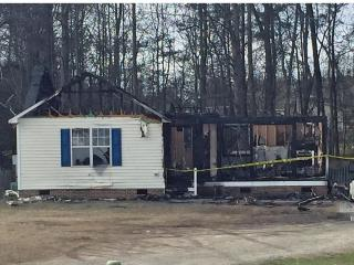 Officials said a young man died in a fire on Jan. 6, 2016 that destroyed a home south of the Town of Garner.