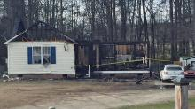 IMAGES: Wake Tech student killed in house fire south of Garner