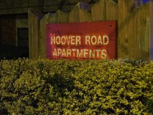 Durham police were investigating Wednesday night after a shooting at the Hoover Road Apartments.