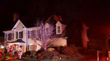 IMAGES: Explosion causes fire at Raleigh home