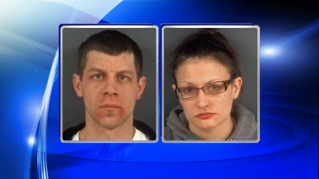 Frankie Lynn Barker, 30, and Danielle Elizabeth Durocher, 27, were arrested and charged with felony cruelty to animals. They were being held at the Cumberland County Jail under $10,000 secured bonds.