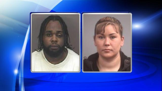 Kelly Lashaun Wiley and Rebecca Amy Stasko were arrested in connection to a Hillsborough bank robbery.