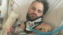 IMAGES: Mother searching for 'guardian angel' who helped son after crash