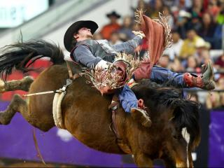 The World's Toughest Rodeo comes to PNC Arena on Saturday January 15, 2016 in Raleigh N.C. (Chris Baird / WRAL Contributor).
