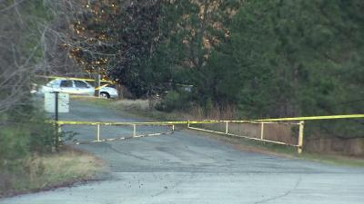 Police were investigating a shooting death near Efland-Cheeks Elementary School Monday afternoon.