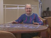 'Puzzle Lady' finds peace among pieces