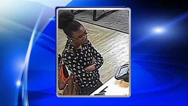 Fayetteville police are seeking public assistance in locating a woman who they said used a credit card that was stolen during a vehicle break-in.