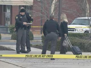 A school in Zebulon was temporarily placed on lockdown Thursday after a man attempted to rob a PNC Bank branch.
