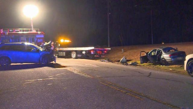 A head-on collision early Tuesday morning in Spring Lake killed one person, officials said.