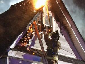 No one was injured in an apartment fire in Dunn that prompted a response from five fire departments.