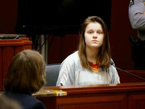 Sarah Redden testified in the Travion Smith murder trail on Thursday, Feb. 6, 2016.