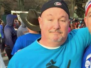 "A 58-year old man complained of chest pains during the first mile of the 12th annual race, officials said. The man, who was identified as Jeff ""FaFa"" Woods,, was taken to Rex Hospital, where he was pronounced dead."