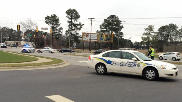 A woman died in a hit-and-run-crash in Garner, authorities said.