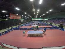 Olympic table tennis hopefuls compete in Greensboro