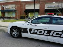 Durham police said a man was shot in the face with a flare gun on Tuesday morning after getting into an argument with another man at a Panera Bread.