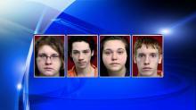Chelsea Collier, Daniel Grissom, Jessica Lewis, Chase Wiesner, Henderson homicide