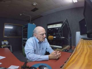 Earl Telliga has been on the radio since 1956 and as the sole employee of a Murfreesboro he has no plans of retiring even as he faces a battle with cancer.