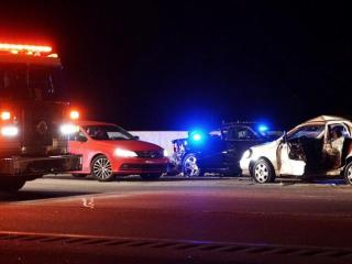 A multi-vehicle accident closed westbound lanes for on Interstate 40 in Durham County for several hours Wednesday night.